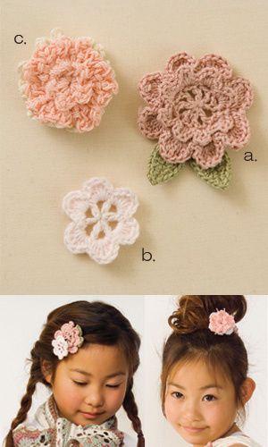 Patrons & modèles gratuits des fleurs au crochet (9)