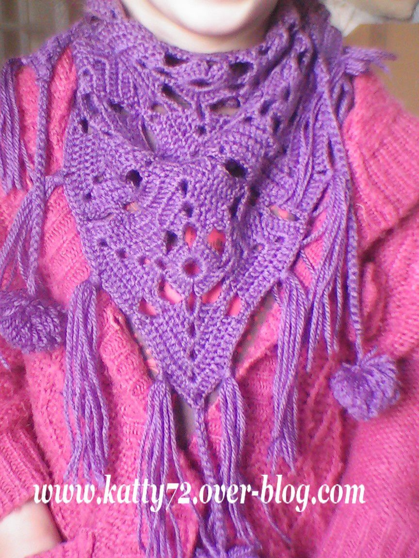 Crochet : Mini chèche