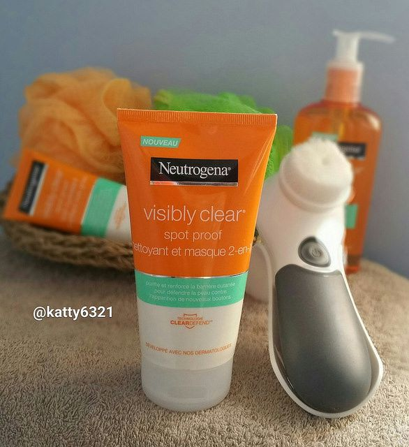 Test de la gamme Visibly clear spot proof de Neutrogena