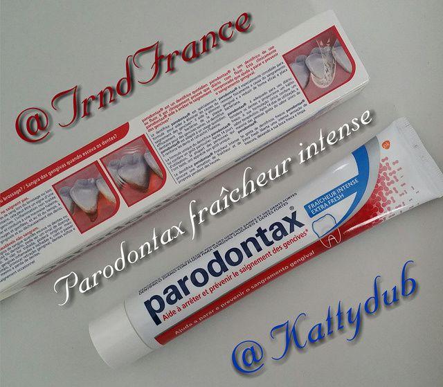 Test du dentifrice Parodontax Fraîcheur Intense