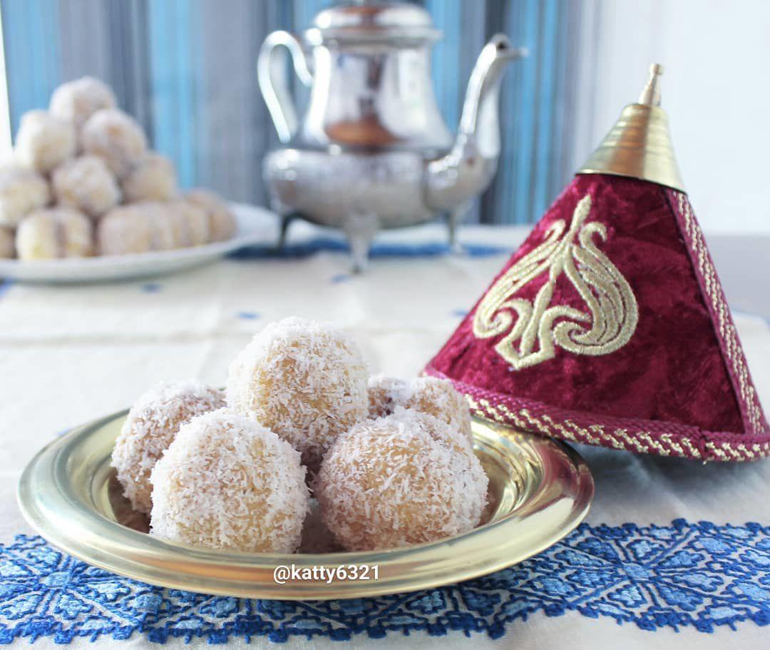 recette des Boules à la confiture et noix de coco