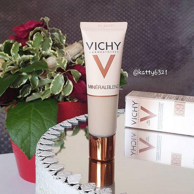 Test du Fond de teint MinéralBlend de Vichy