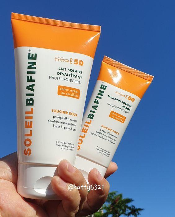 Test des soins solaires SoleilBiafine