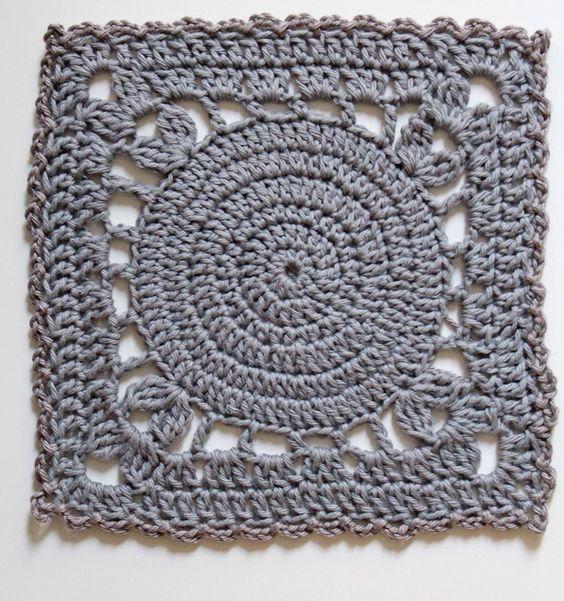 Crochet : Carré 101 et 102