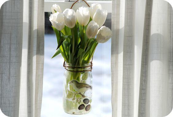 DIY Recyclage des pots en verre (5)