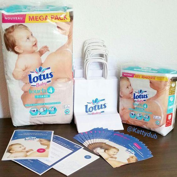 Test de Lotus Baby Touch