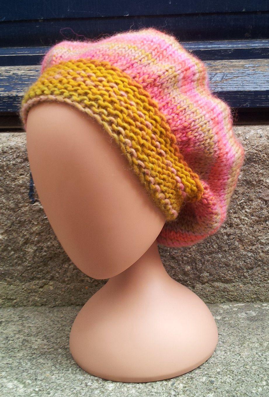 West, un fil doux et coloré à tricoter avec du 7mm