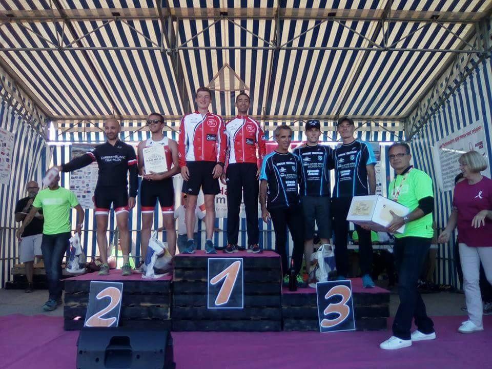 Triathlon CLM par équipe de Coutras et ironman de Barcelone