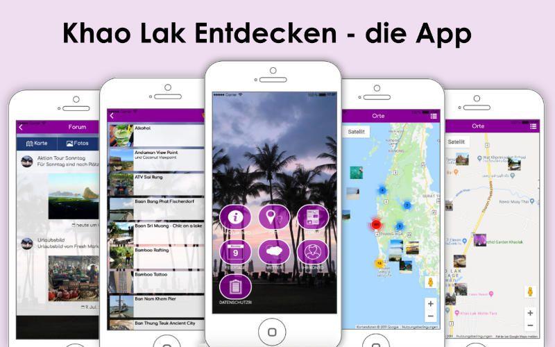 Khao Lak Entdecken- die App