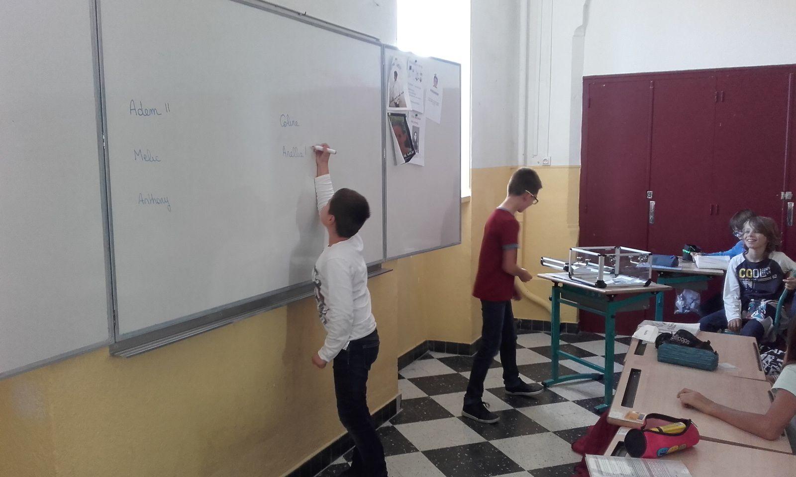 Elections des délégués de classe