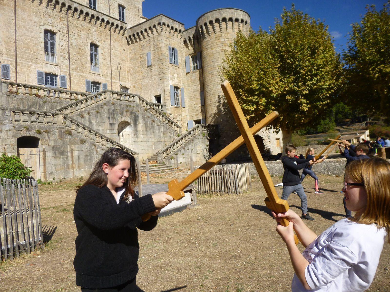Au temps du château (coffre) fort