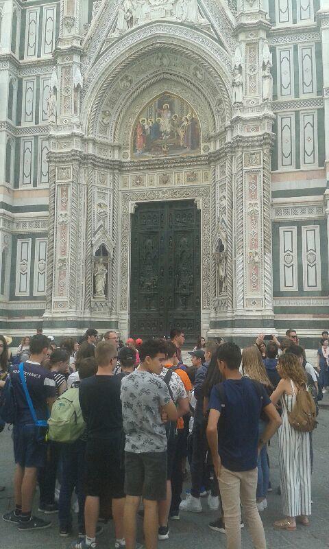 Premiers clichés d'Italie : Florence (2018)