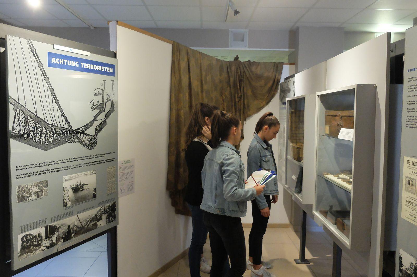 Visite du Musée de la Résistance et de la Déportation