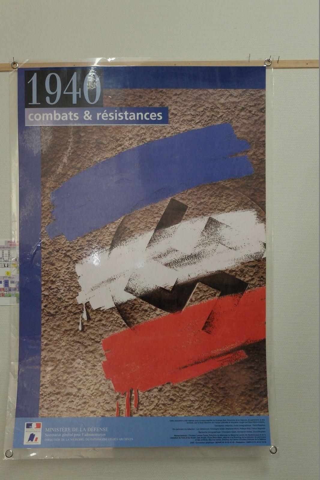 Parcours Défense et Patrimoine : Expo 1940