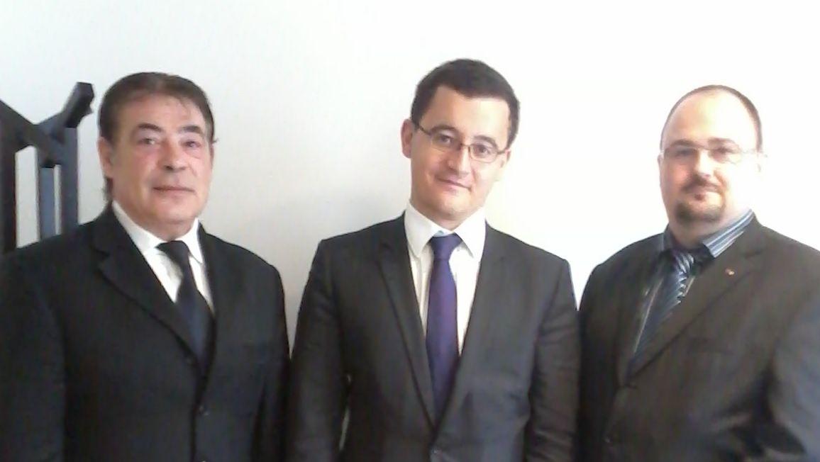Le SDPM avec Gérald DARMANIN