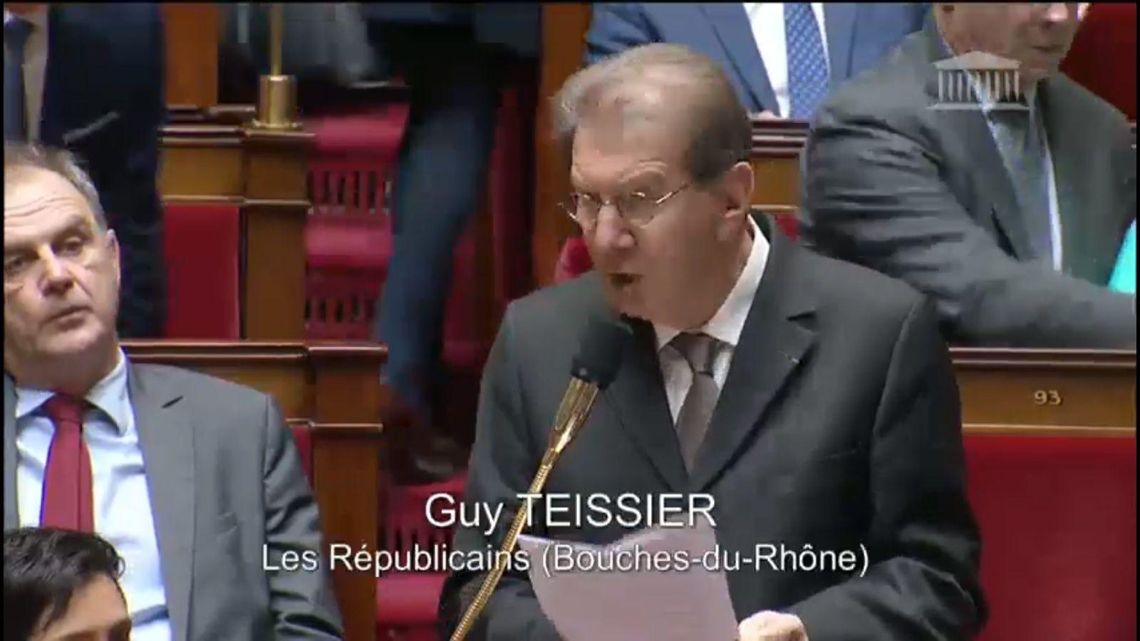 Retraite et Salaire : le Député Guy TESSIER interroge le Gouvernement à l'Assemblée Nationale