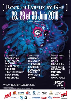 Un été en musique à Evreux pour la Troisième édition du « RIE »