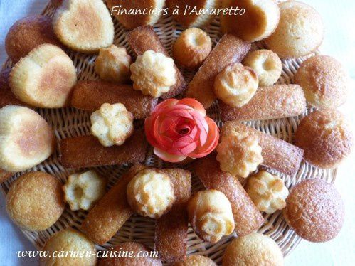 Financiers à l'amaretto