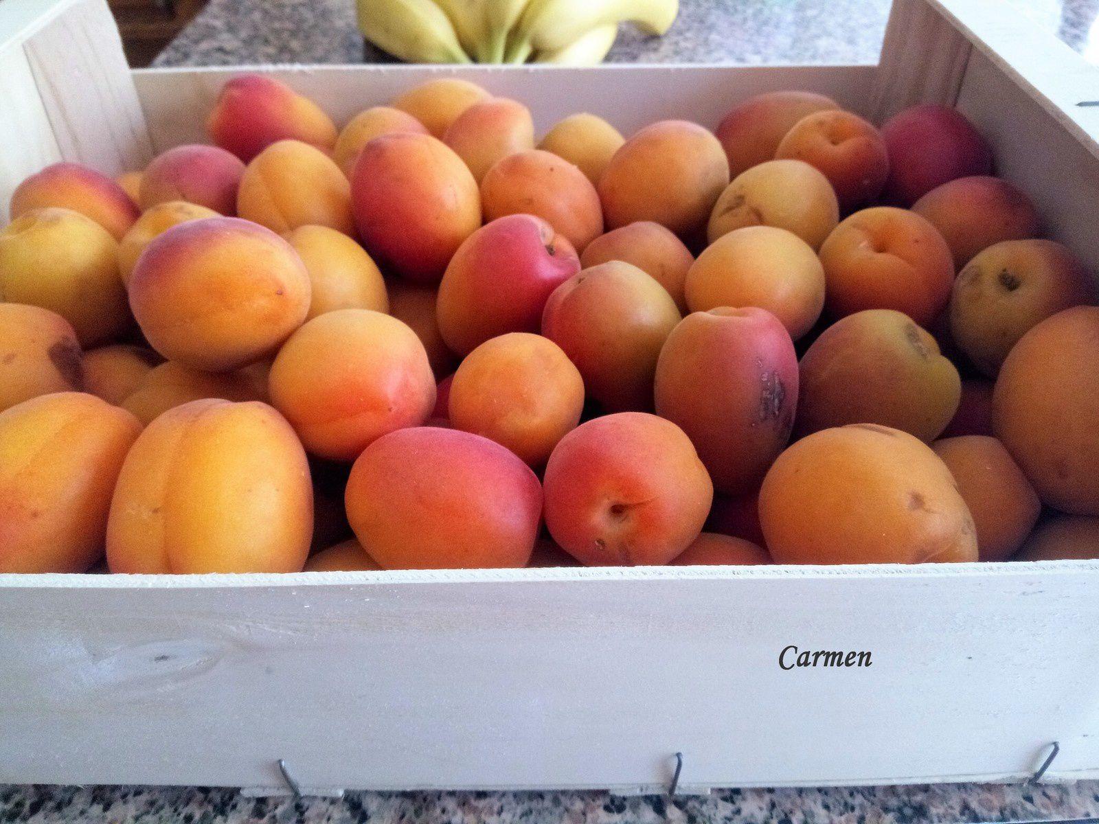 Confiture d'abricots à la fève Tonka