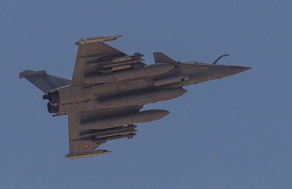L'aviation française a frappé Daesh à Raqqa en Syrie