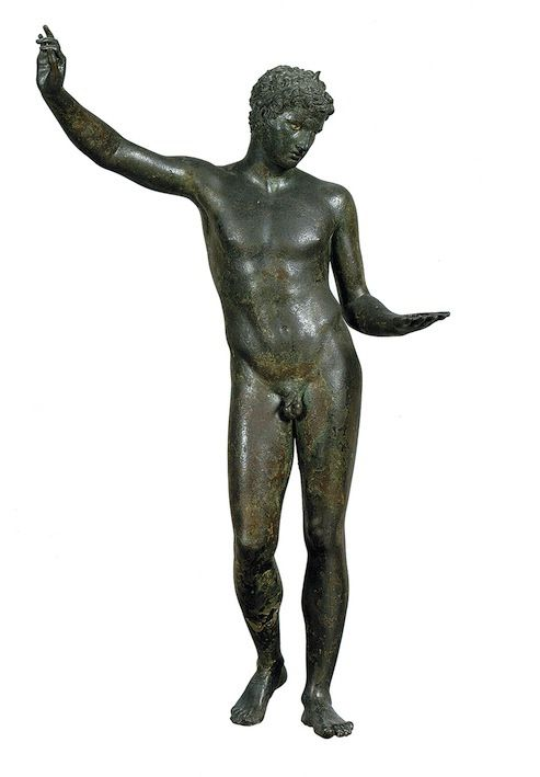 National Archaeological Museum, Athens 'Marathon Boy,' from the Bay of Marathon, dated by style to the fourth century BC