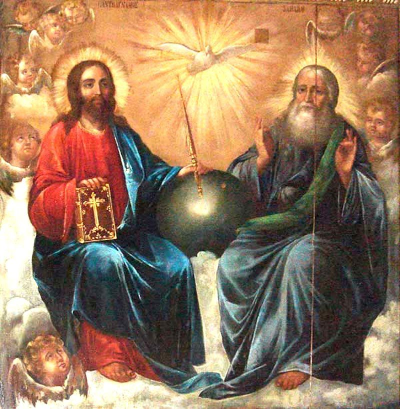 """L'Adoration de la Sainte Trinité"""" (1640) de Johann Heinrich Schonfeld, musée du Louvre"""