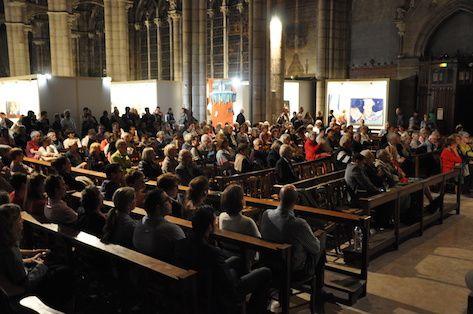 inauguration de la Biennale d'art sacré actuel 2017 à St-André