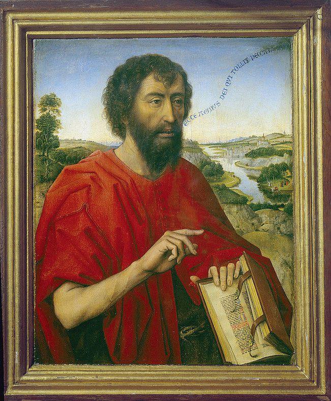 Saint Jean-Baptiste, Rogier Van der Weyden