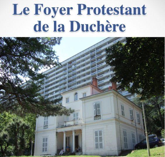 Depuis sa création en 1963 à la Duchère (Lyon), le foyer protestant tisse de la fraternité entre les habitants : s'accueillir… être citoyen
