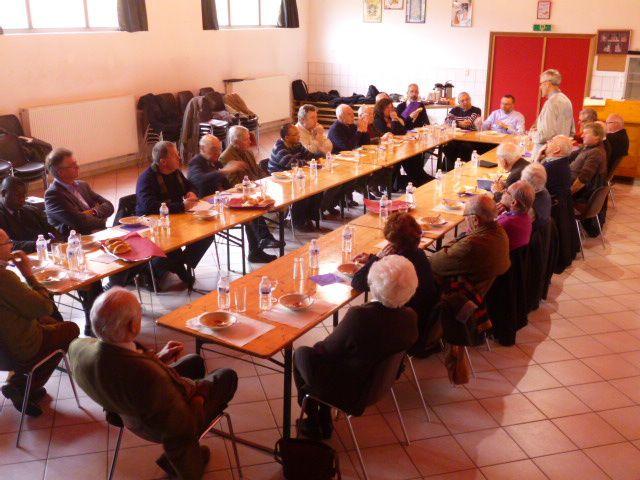 Première réunion de GEFEDI à Anseremme