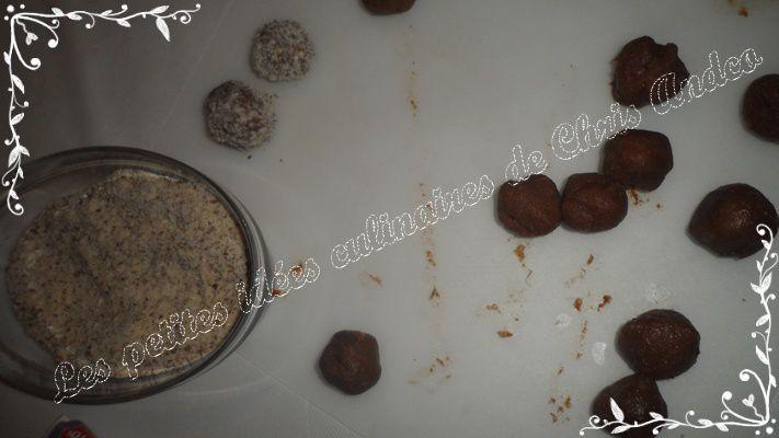 Truffes au Toblerone
