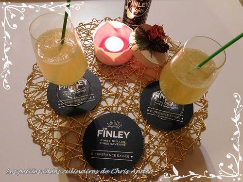 Cocktail Fïnger mojito, citron et Cognac