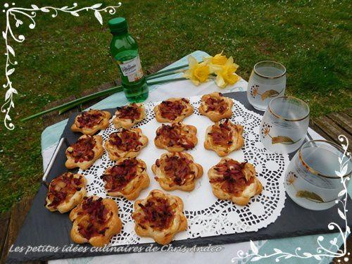 Tartelettes flambées printanières