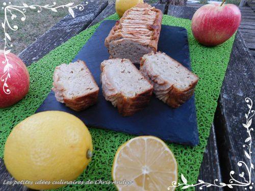 Fondant pomme et citron healthy