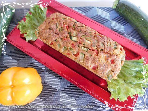 Cake végétarien aux petits légumes