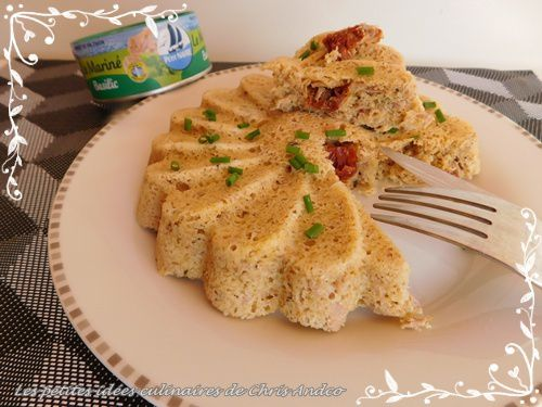 bowl cake thon basilic tomates séchées healthy