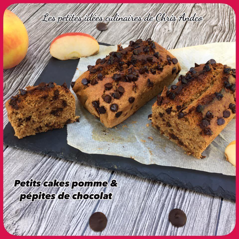 Petits cakes pomme et pépites de chocolat