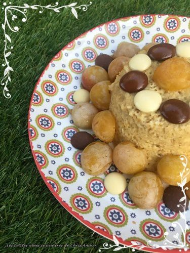 Bowl cake au son d'avoine & mirabelles