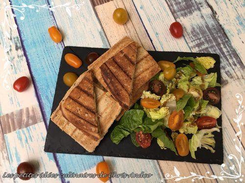 Croque bacon & Merzer