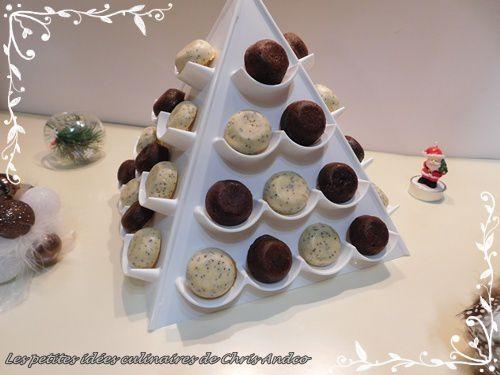 Mignardises citron/pavot ou deux chocolats