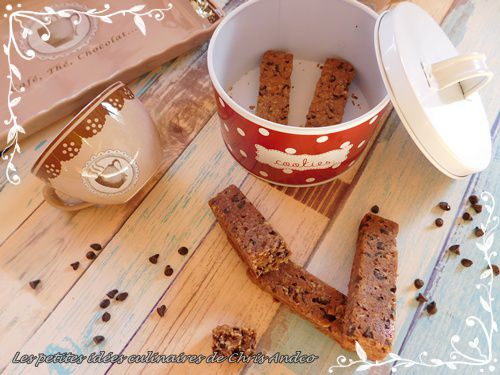 Barres de  cookies