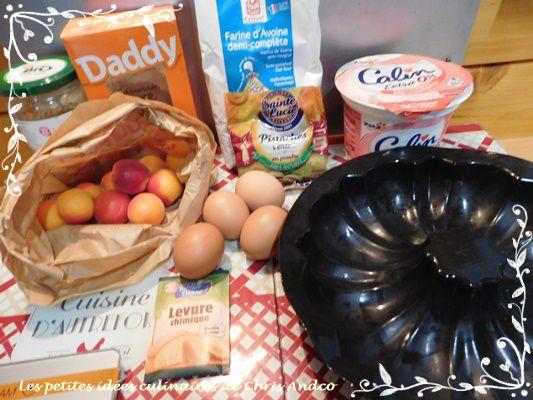 Moelleux healthy abricot & pistache