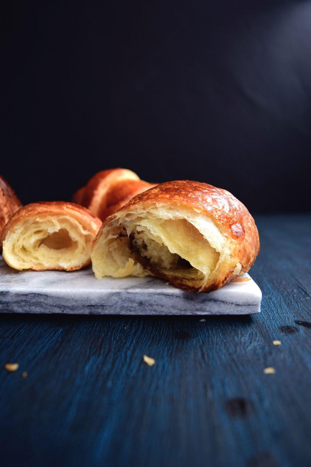 Pâte levée feuilletée pour croissants et pains au chocolats