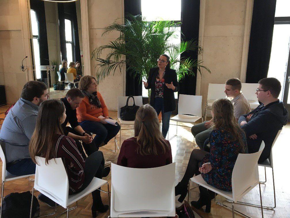 Speed-meeting à la Chambre de Commerce et I'Industrie de Châlons en Champagne le 12 mars