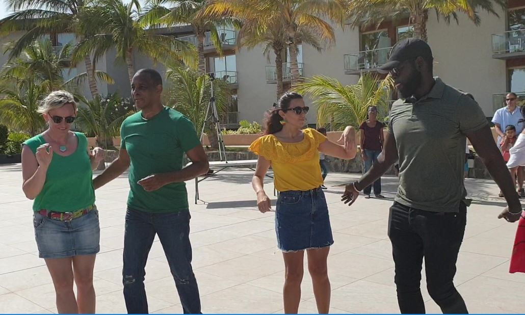 Flash Mob Internationale Rueda de Casino mars 2019 - Sénégal