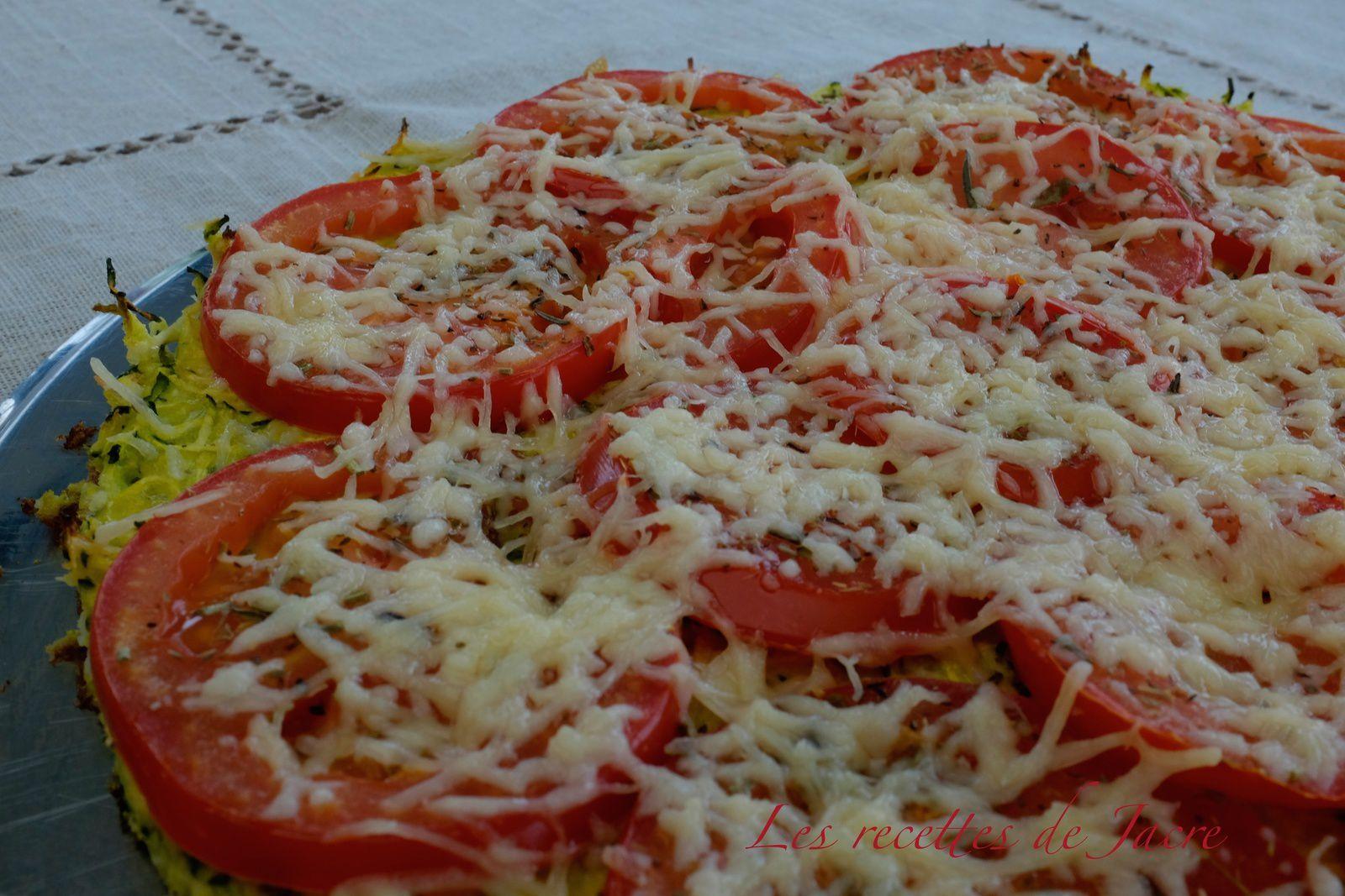 Pizza toute végétarienne