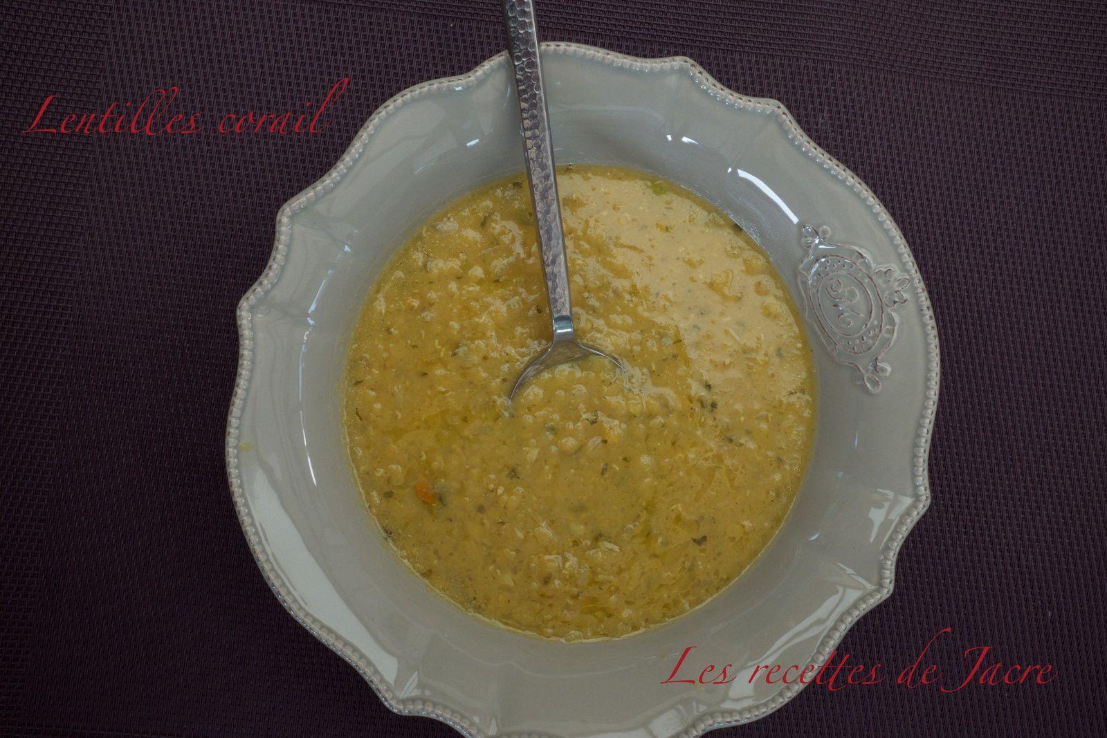 Dal soupe/recette Indienne