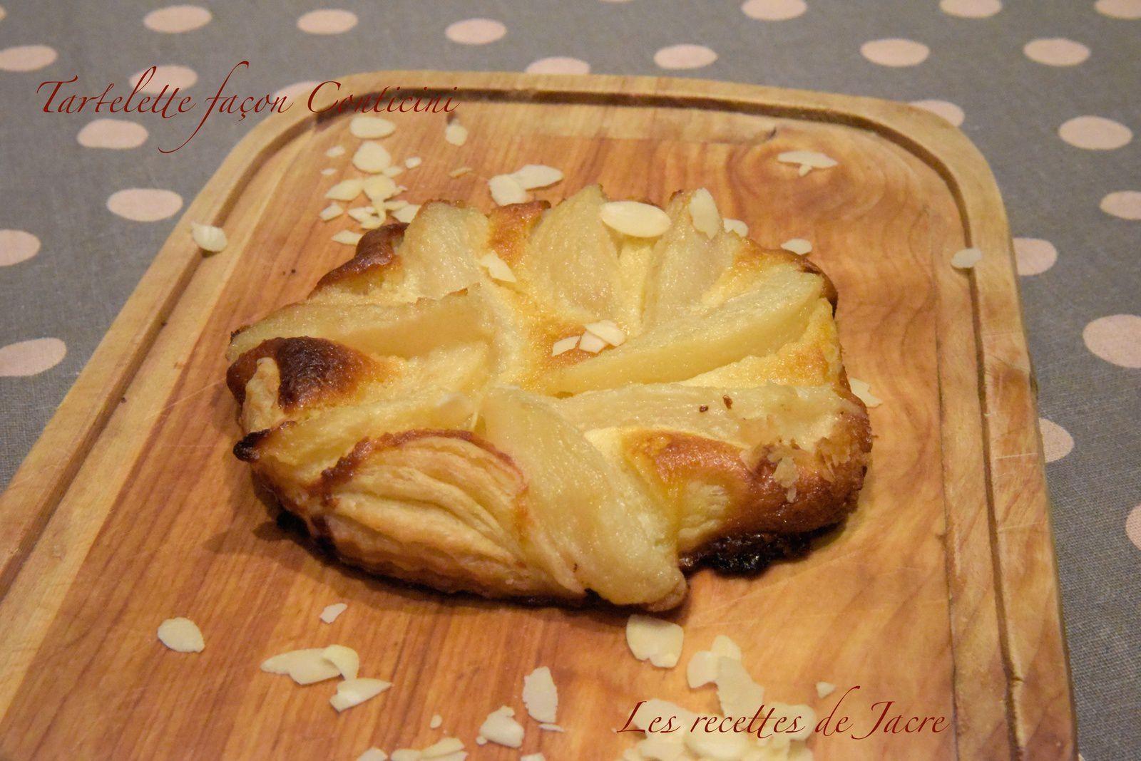 Tartelettes aux poires façon Conticini