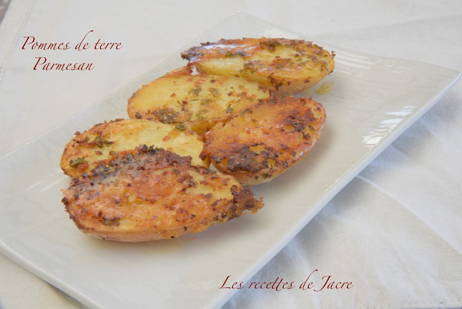 Pommes de terre gratinées au parmesan