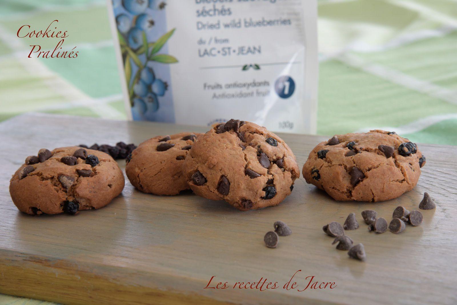 cookies pralinés